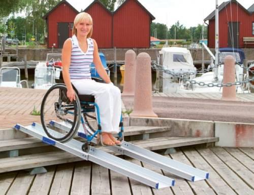 rampas para sillas de ruedas y scooters