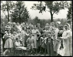 Muchos niños se contagiaron de polio en distintas epidemias hasta los años 60