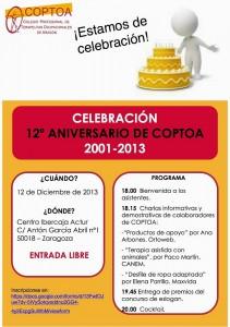 Charla en el 12º aniversario de COPTOA