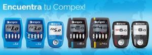 Nueva gama electroestimuladores Compex