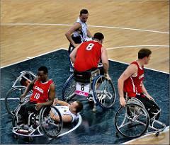 El baloncesto en silla de ruedas