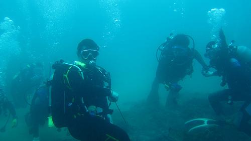 El buceo adaptado es uno de los deportes náuticos que pueden practicarse con la debida preparación