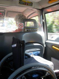 La utilización del taxi adaptado no solo es un derecho y una necesidad para las personas con discapacidad