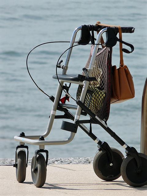 El andador puede ser una gran ayuda para algunas personas con ataxia