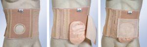 Fajas para colostomía e ileostomía