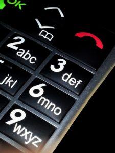El teléfono es un elemento esencial utilizado por el servicio de teleasistencia