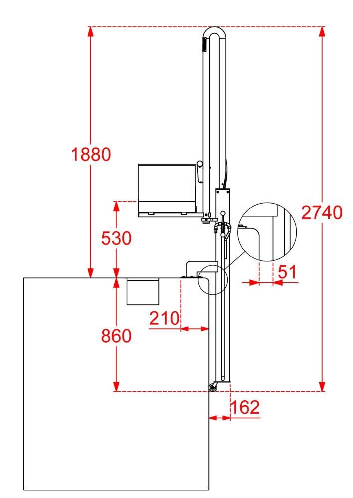 ascensor-acuatico-metalu-basic-hidraulico-semi-portatil-medidas