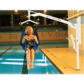 Gruas especiales - Grúa de piscina
