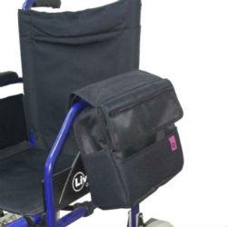 Mochilas y bolsas auxiliares para sillas de ruedas