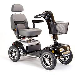 Scooters eléctricos robustos de gran autonomía