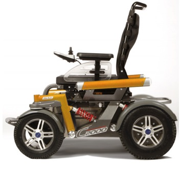 Sillas de ruedas eléctricas todoterreno (exteriores)