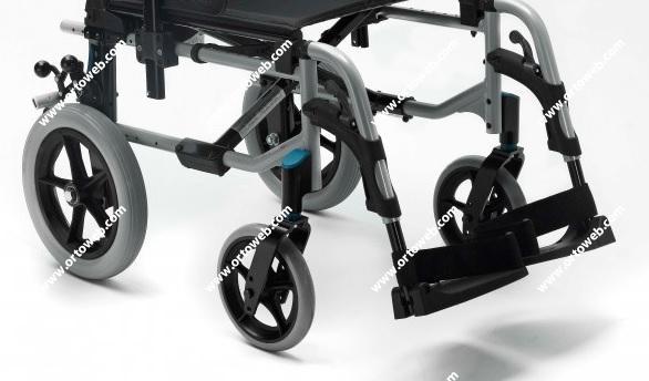 Rueda trasera no autopropulsable maciza de 315mm. (Kit Transit)