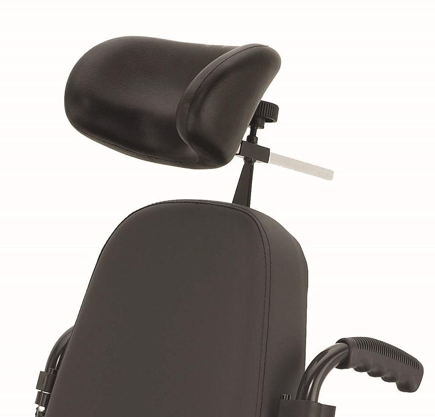 Breezy 300 silla de ruedas aluminio plegable no autopropulsable ortoweb - Reposacabezas silla de ruedas ...