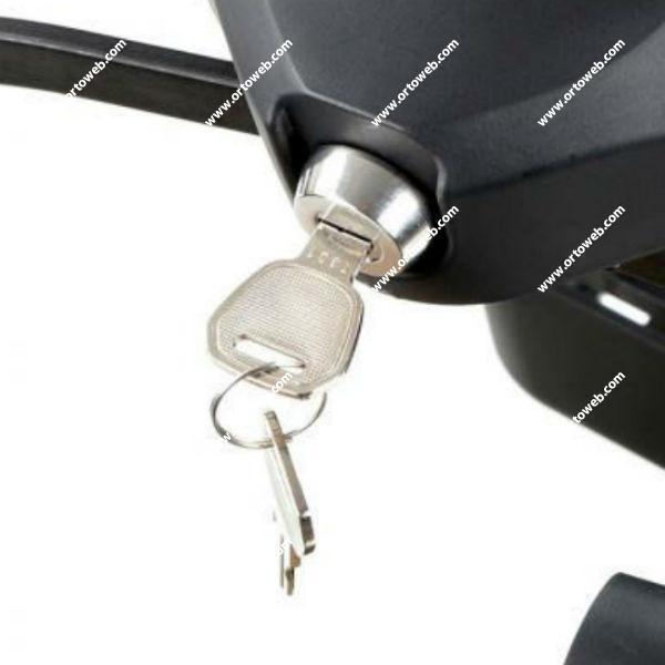 Cilindro con dos llaves