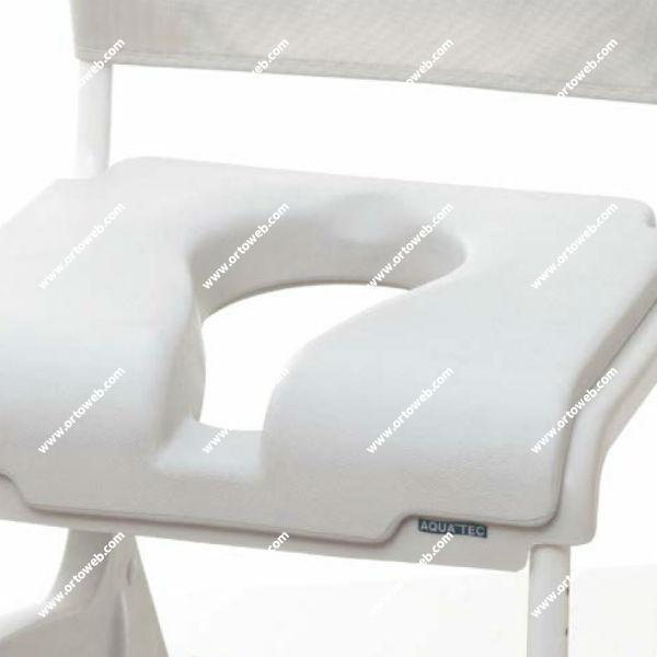 Cojín de asiento confortable con diseño ergonómico en U