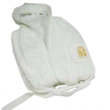 Albornoz de ducha rizo Eco Body 100% algodón
