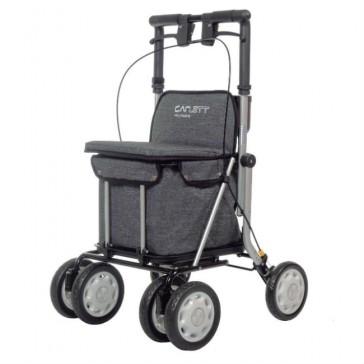 Andador Lett 900 con asiento y carro para la compra