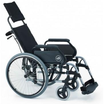 Silla de ruedas Breezy 300R autopropulsable con respaldo reclinable