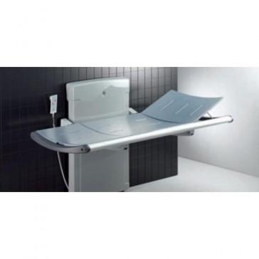 Nursing - Camilla eléctrica para ducha de altura regulable