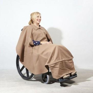 Capa de invierno para silla de ruedas