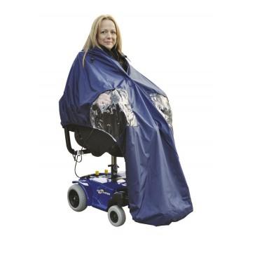 Chubasquero forrado para sillas eléctricas Splash