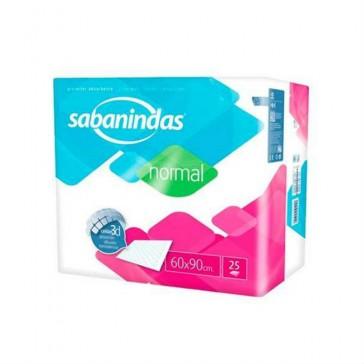 Empapador desechable Sabanindas normal 60x90 25u.