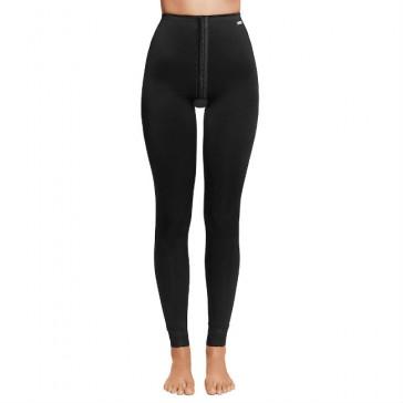 Faja VOE post liposucción desde tobillos hasta cintura con corchetes