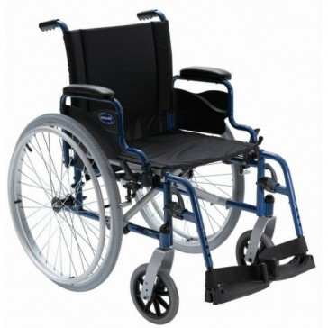 Invacare Action 1 NG - Silla de ruedas de acero autopropulsable