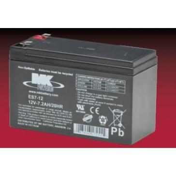 Baterías AGM 12V 7Ah (par) - MK Powered ES7-12
