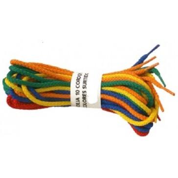 Madeja 10 cordones trenzados