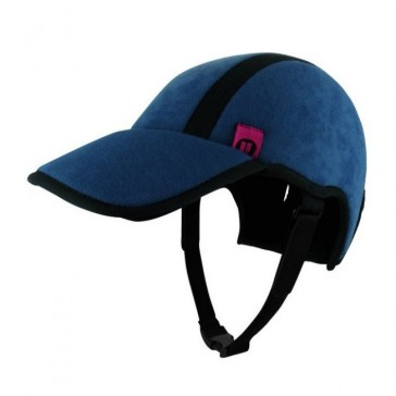 Protección craneal gorra azul acolchado