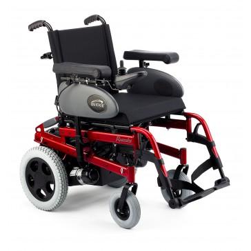 Silla de ruedas eléctrica Quickie Rumba roja