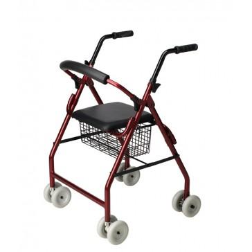 Andador rolator Stroller con frenos de presión