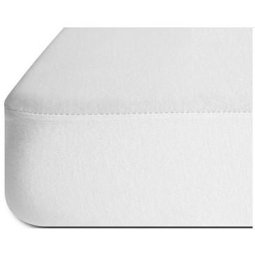 Sabana Bajera impermeable 90x190 blanca