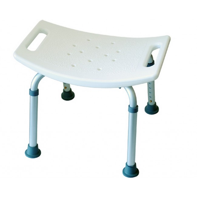 banqueta para ducha de aluminio regulable ortoweb