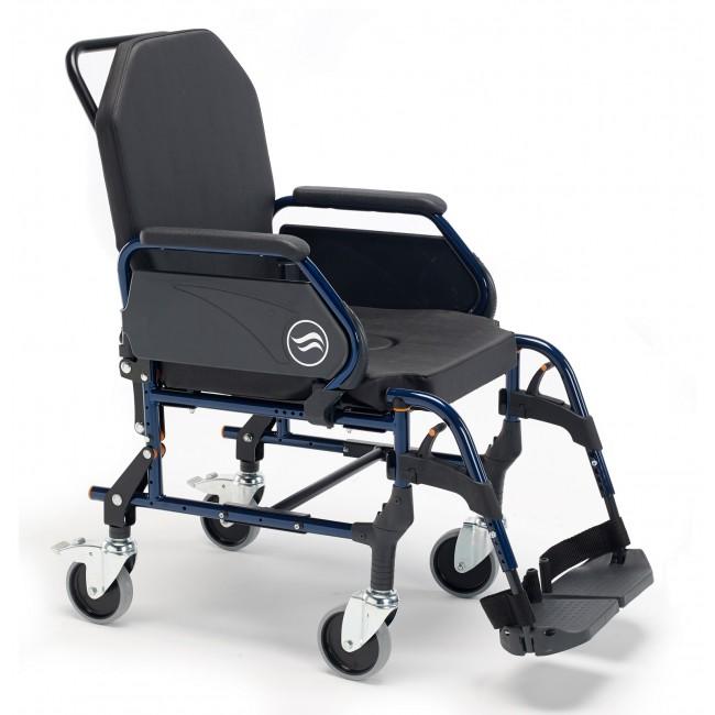 Breezy home 3002a silla de ruedas fija de interior ortoweb for Sillas de ruedas estrechas