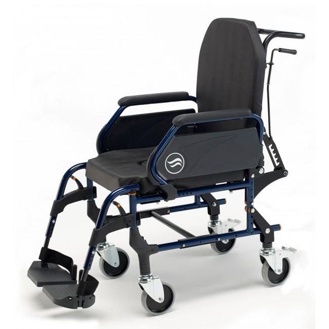 Breezy home 3018a silla de ruedas fija de interior con for Sillas de ruedas estrechas