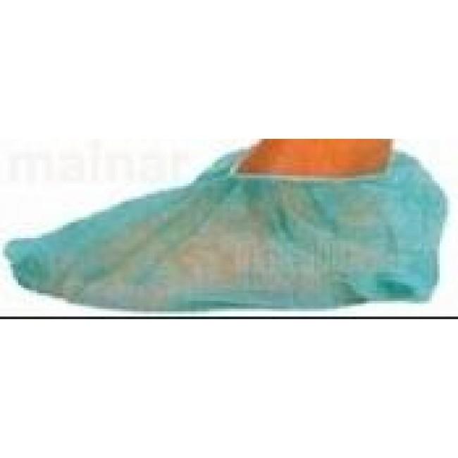 Calzas cubrepies tejido sin tejer color verde bolsas de - Cubrepies de cama ...