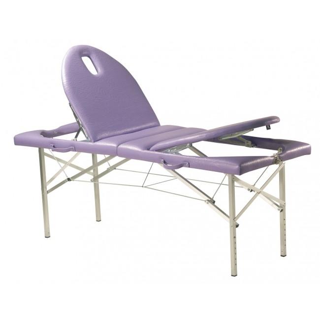 Camilla c137 plegable de aluminio regulable en altura con doble plano inclinado ortoweb - Table massage pliante occasion ...