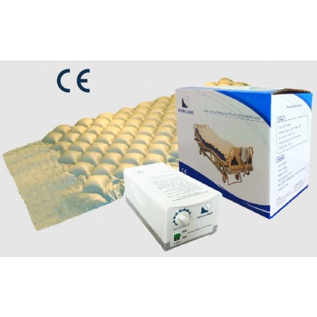 Colch n de aire antiescaras con compresor con regulaci n - Compresor para colchon antiescaras ...