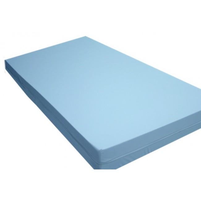 Colch n sanitario sanimed 25 27 kg 90x190x14 con funda biel stica impermeable de pu azul 14 - El mejor colchon para descansar ...