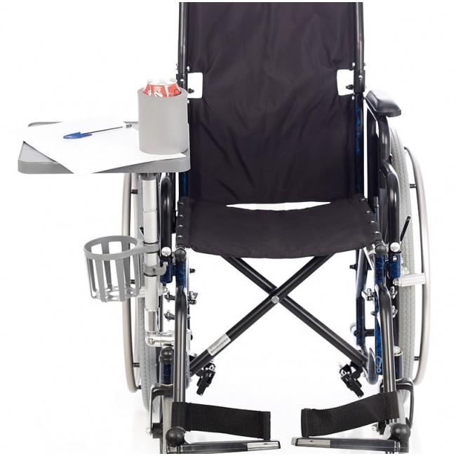 Mesa auxiliar para silla de ruedas ortoweb - Ruedas para sillas de ruedas ...
