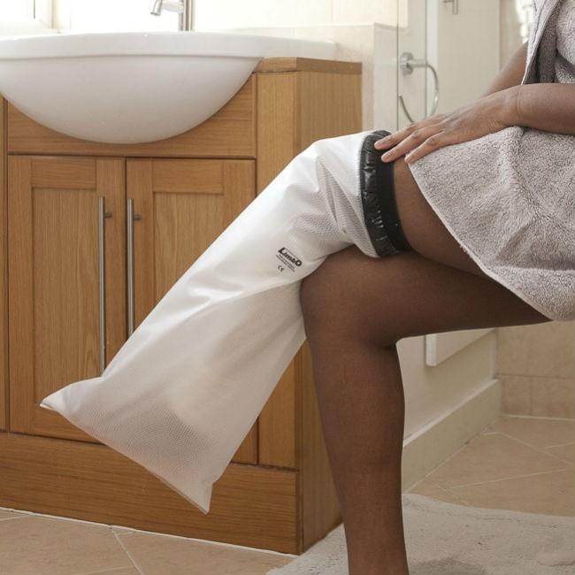 Protectores impermeables de pierna para escayola o vendajes ortoweb - Protectores impermeables para colchones ...