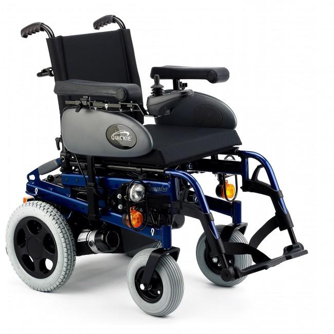 Quickie rumba silla de ruedas el ctrica plegable ortoweb - Sillas de ruedas electricas ...