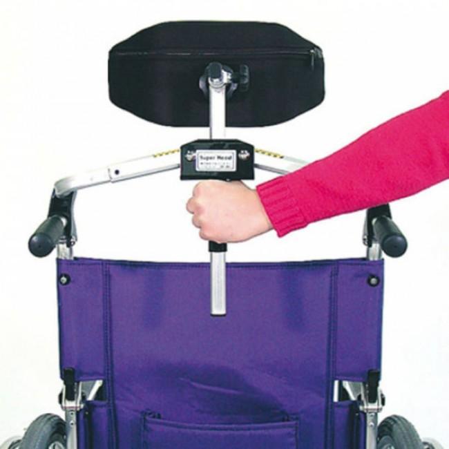 Reposacabezas plegable para silla de ruedas ortoweb - Silla ruedas plegable ...