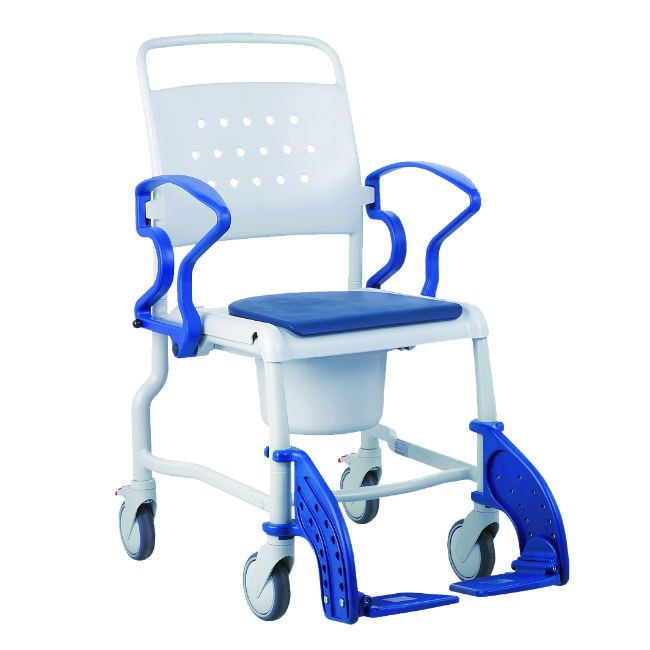 Silla de ruedas para ducha y wc rebotec bonn ortoweb - Ruedas para sillas de ruedas ...