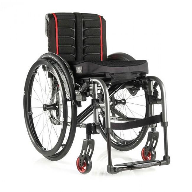 Quickie life silla de ruedas de aluminio plegable ortoweb - Sillas de ruedas de aluminio plegables ...