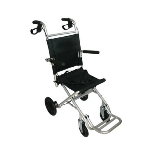 silla de ruedas de transferencia plegable y portatil