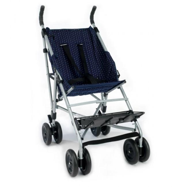 silla de ruedas plegable tipo paraguas