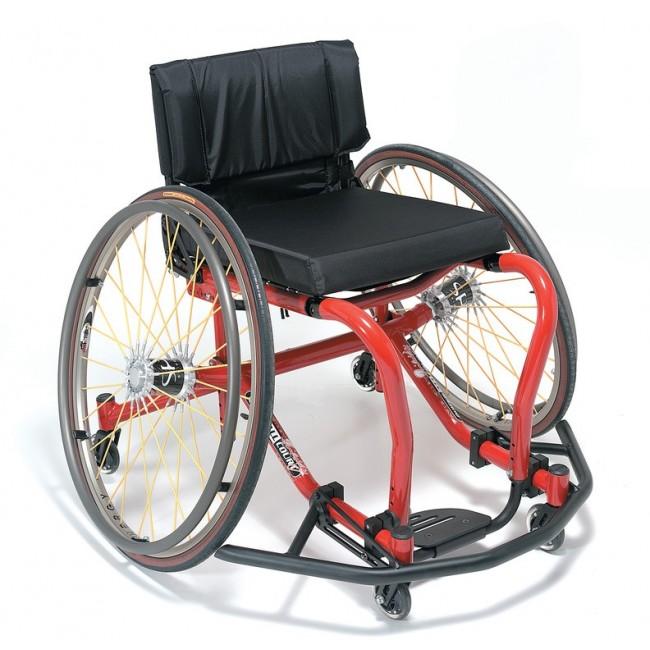 Silla de ruedas para baloncesto quickie all court ortoweb - Baloncesto silla de ruedas ...